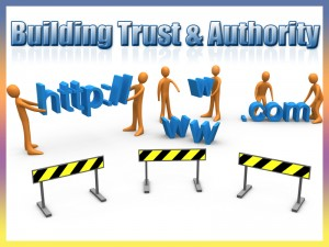 Website Trust and Authority
